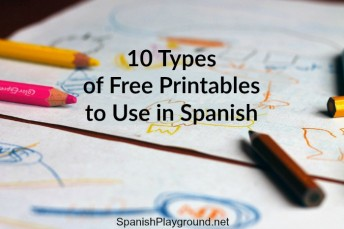 Use free printables in Spanish class to engage kids in fun language games and activities.