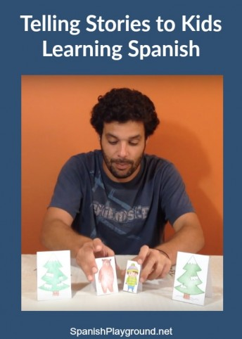 Telling Stories in Spanish image