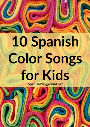 Spanish color songs teach children a range of vocabulary in addition to colors.