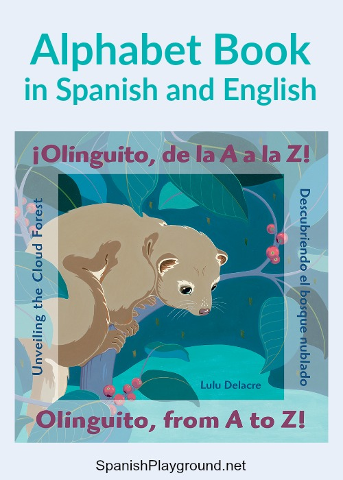 A Spanish alphabet book that introduces children to the cloud forest of Ecuador.