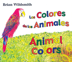 This bilingual board book by Brain Wildsmith engages kids through beautiful art.
