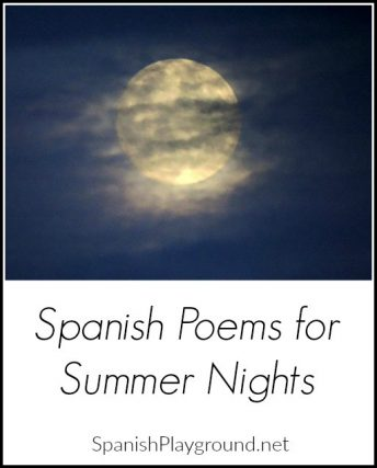 These two Spanish poems for summer nights help children learn the rhythm and sound of the language.