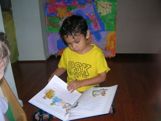 Stories and music are important to Spanish learning at Hola Playgroup.