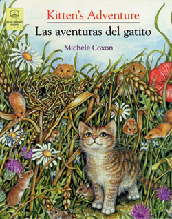 Spanish read aloud books provide kids with language in context.