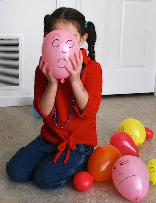 Activities to recognize emotions help teach kids to be kind.