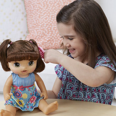 This doll speaks Spanish to children and is an excellent gift for Spanish learners.