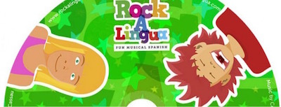 Learning songs from Rockalinga are wonderful Spanish gifts for kids.