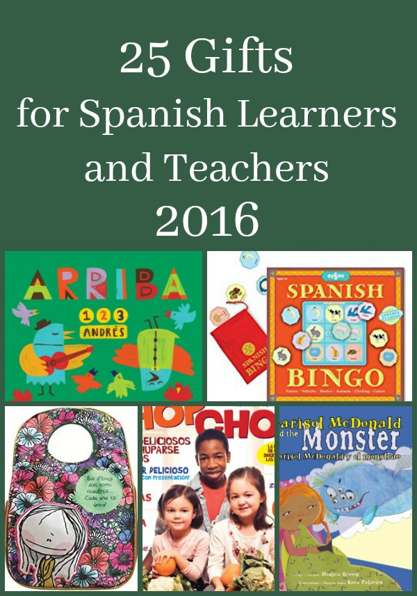 Spanish gifts for kids and teachers keep everyone motivated and having fun with language!