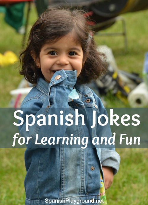 Spanish jokes are fun and useful for teaching Spanish to children.