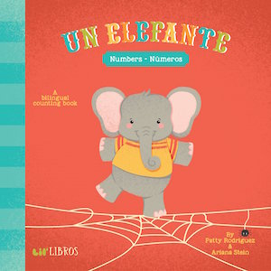 This counting book introduces children to the song Un elefante se balanceaba.