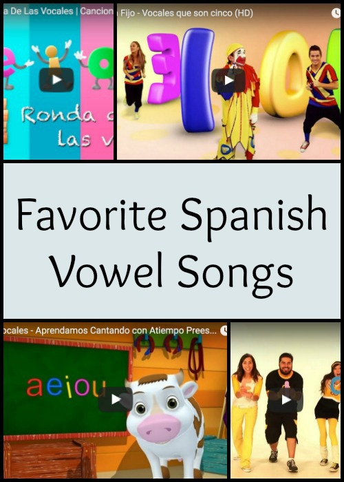 Spanish vowel songs teach pronunciation and aid literacy.