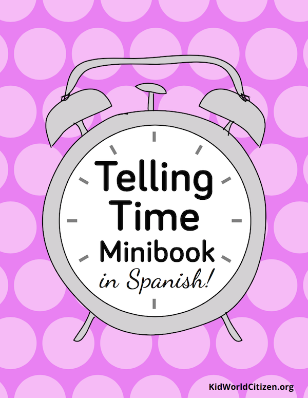 The resources in Spanish TpT stores include mini-books like this one from Kid World Citizen.