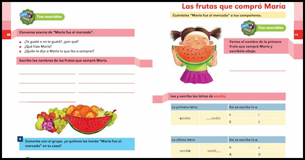 These free Spanish readers have activity books for students.
