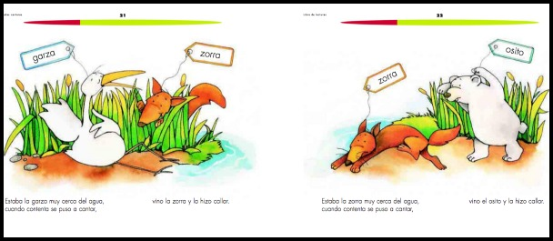 The Mexican government publishes Spanish readers for the public schools.