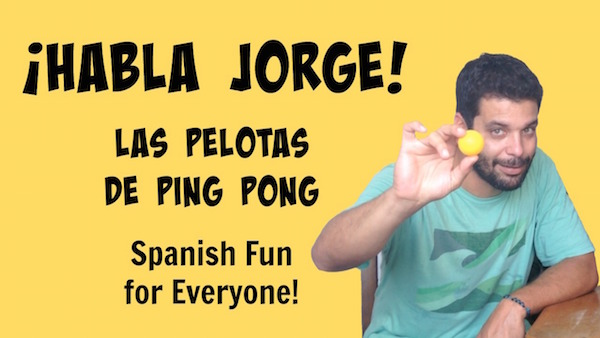 Kids learn Spanish vocabulary for sports and ball play in this fun video.