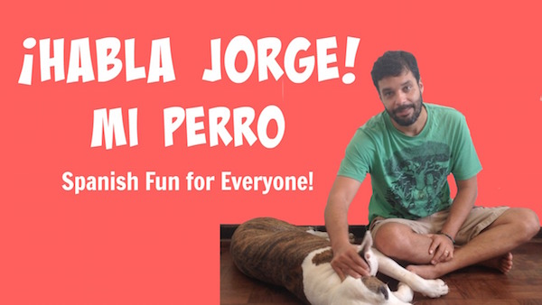 Kids learn vocabulary for Spanish body parts as Jorge describes his dog.