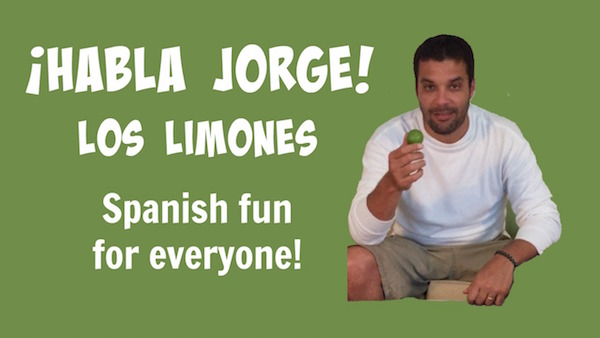 With this video kids learn Spanish vocabulary related to a favorite fruit.