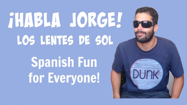 Kids learn Spanish parts of the face with this youtuber style video.
