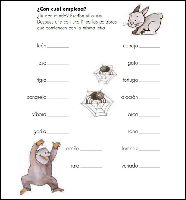 The activity books for free Spanish readers have material to use with language learners.