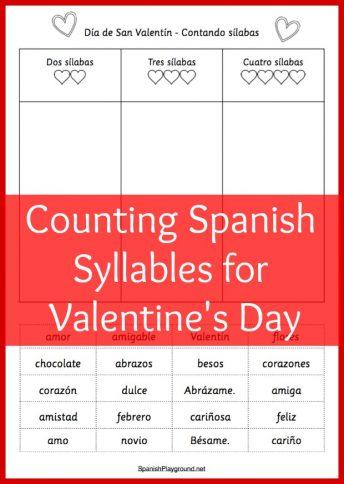 Valentines Day Archives  Spanish Playground