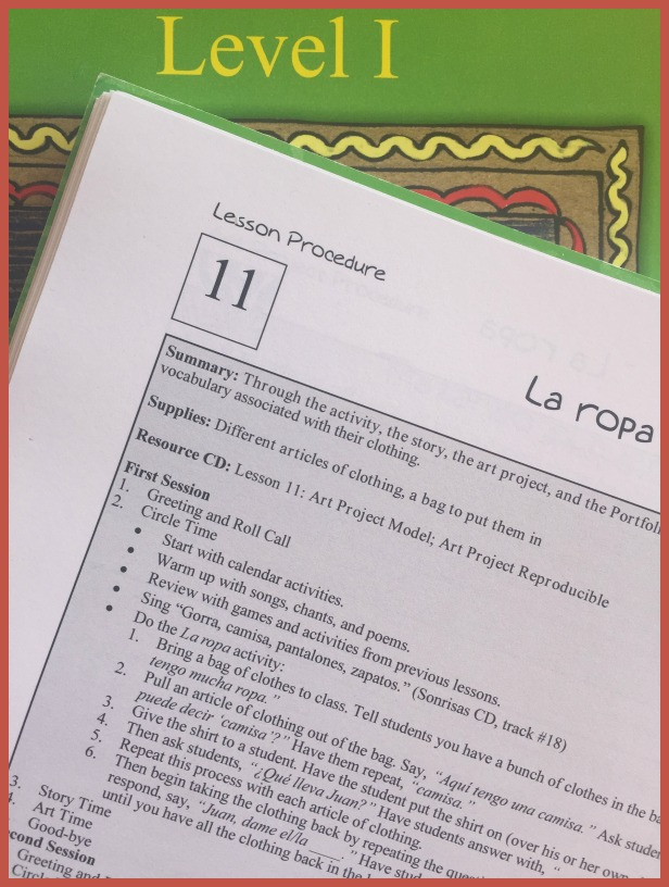 Detailed lesson plans make this elementary Spanish curriculum easy to use.