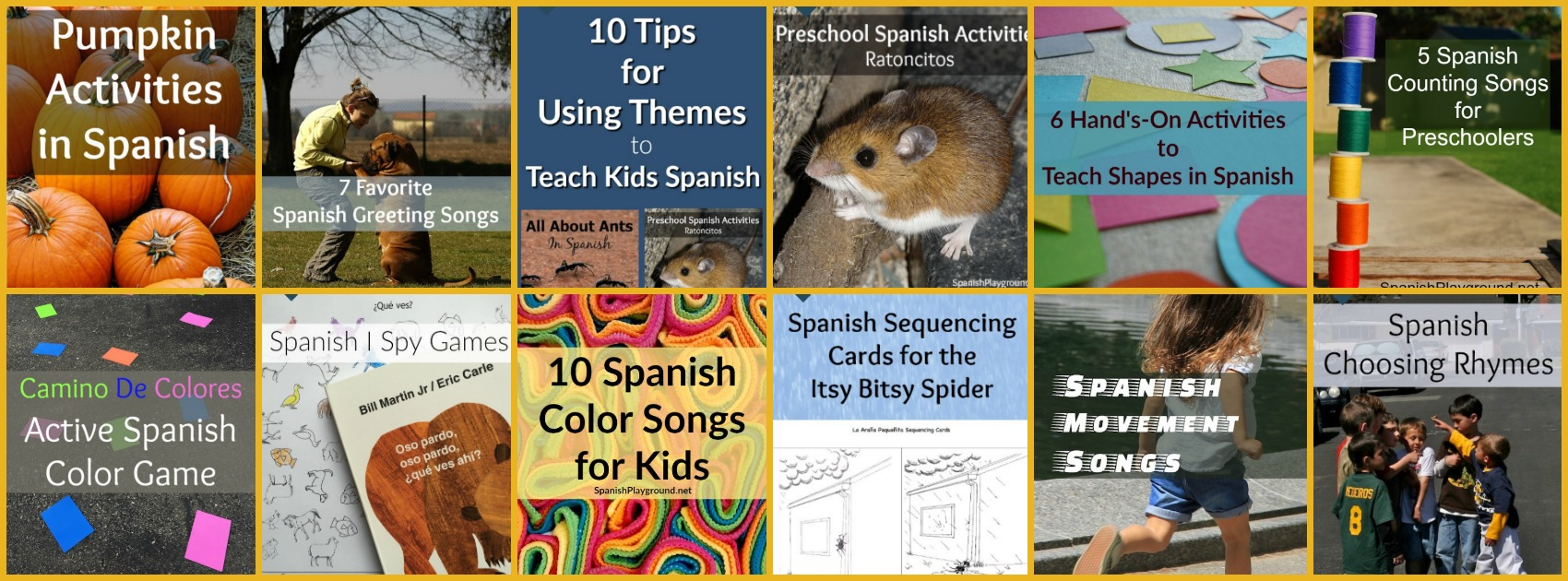preschool spanish activities archives spanish playground