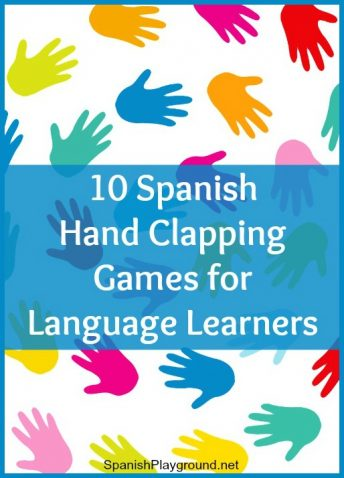 Spanish hand clapping games are a fun language learning activity for children.
