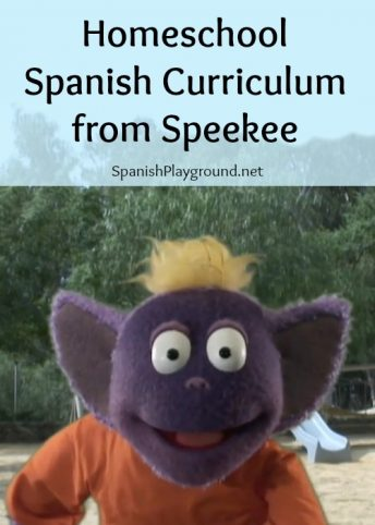 This homeschool Spanish curriculum from Speekee provides 40 weeks of material for kids ages 4-7.