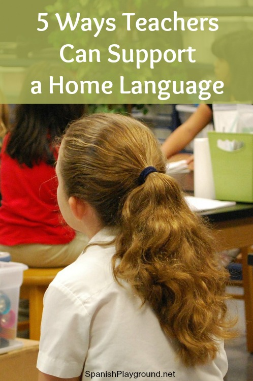 Teachers can support a home language and make a difference in language development for bilingual kids.