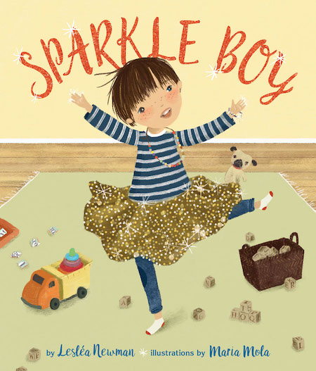 Sparkle Boy features a Latino family in a story of love and acceptance.