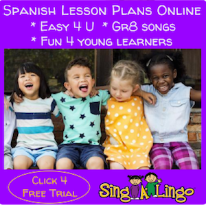 Teach Spanish to preschool children with Singalingo.