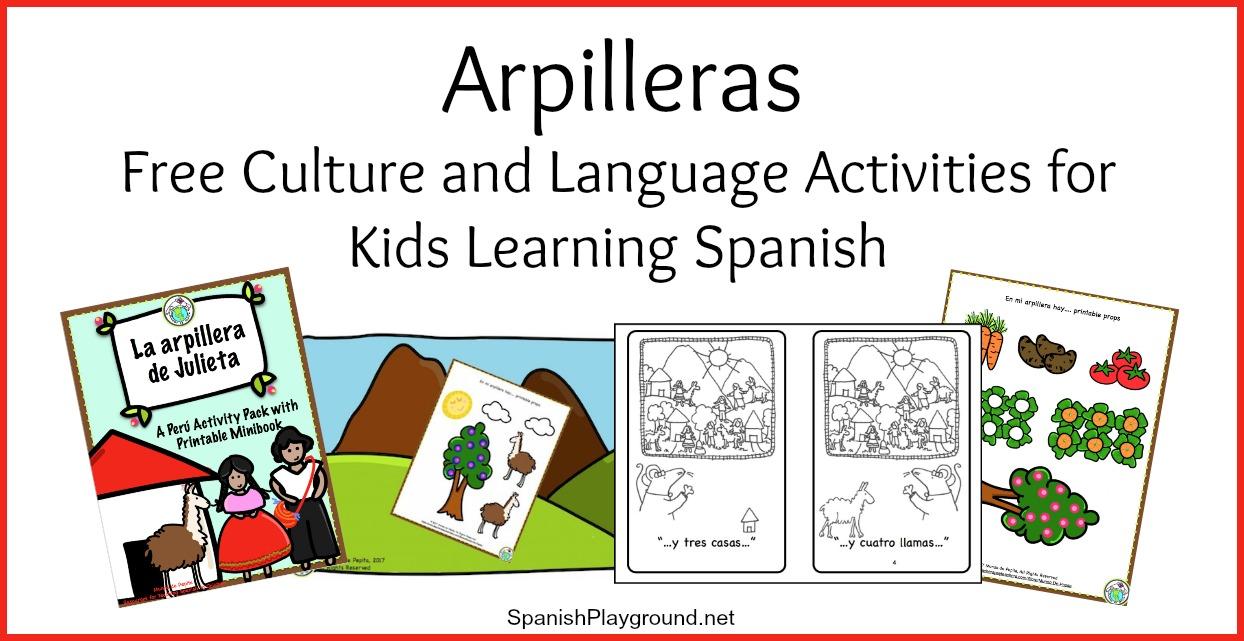 culture activities for spanish class la arpillera spanish playground. Black Bedroom Furniture Sets. Home Design Ideas