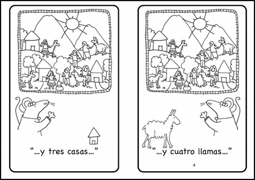 A mini-book about figures in an arpilleras is one of the culture activities for Spanish class included in this download.