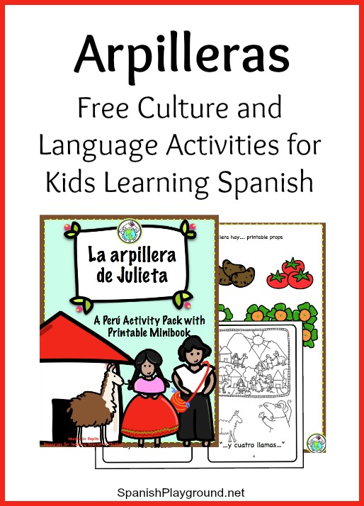 These culture activities for Spanish class center on the art of the arpillera.