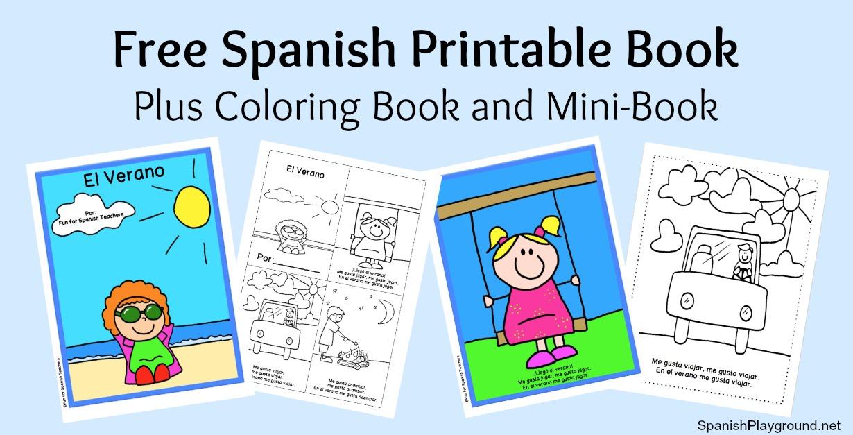 Printable Spanish Book for Beginners - Spanish Playground