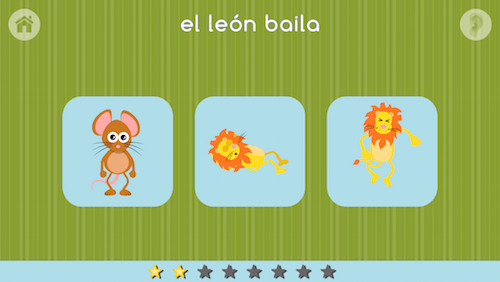 This Spanish app for kids creates fun learning with stories.