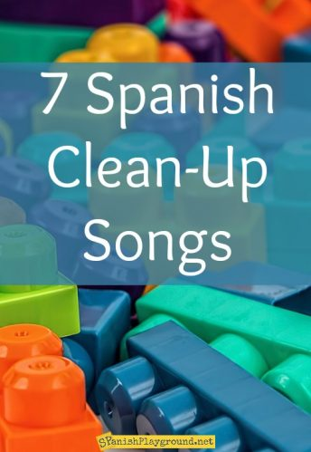 7 Spanish clean-up songs with high frequency vocabulary for kids of all ages.
