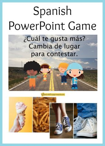 These Spanish PowerPoint games use high-frequency vocabulary and make an excellent get-to-know-you activity.
