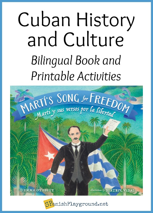 Cuban history for kids comes alive in this bilingual biography of José Martí.
