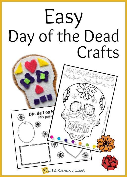 This collection of easy Day of the Dead crafts reinforce language and culture.