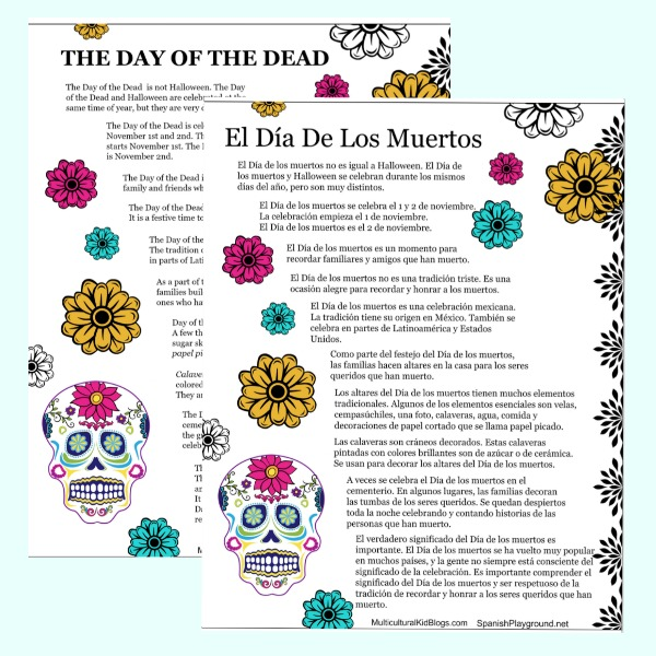 These 10 facts about Día de los Muertos should be a part of doing easy Day of the Dead crafts wtih kids.