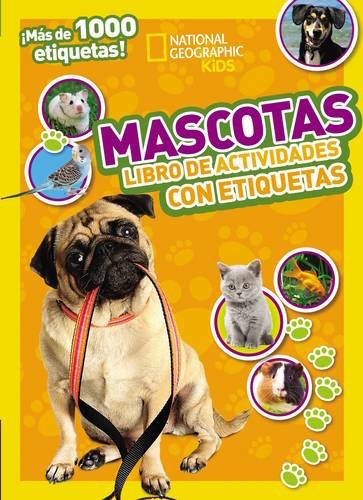 Kids will love these Spanish books with stickers from National Geographic.