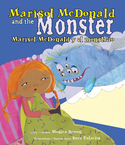 Marisol McDonald and the Monster is a bilingual picture books and perfect for children learning Spanish.