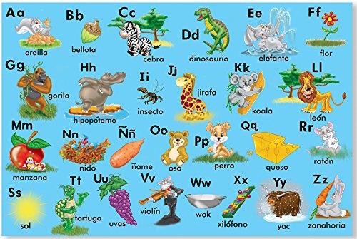 Toys like this animal floor puzzle make educational Spanish language gifts. panish Language Gifts