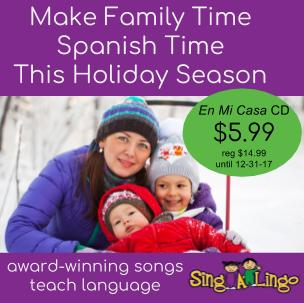 Teach Spanish to kids with Singalingo songs.