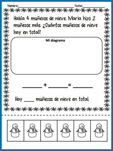 These free Spanish winter activities teach high-frequency vocabulary.