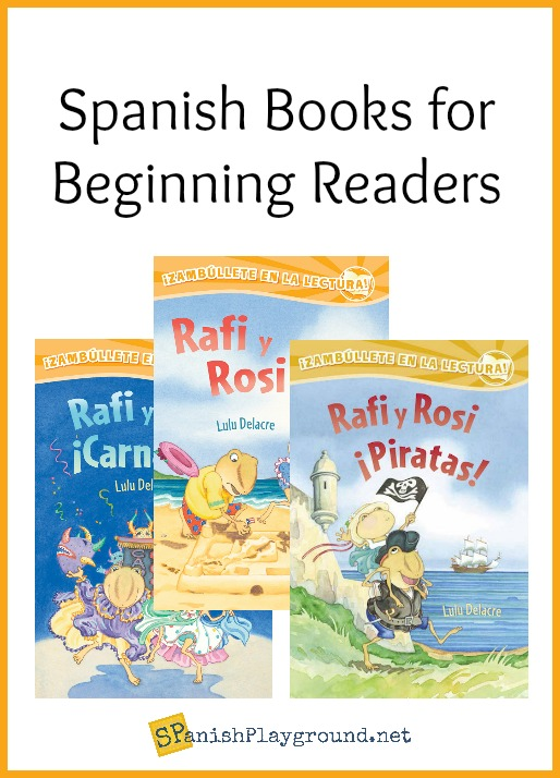 Spanish books for beginning readers exposue them to new vocabulary and build reading skills.