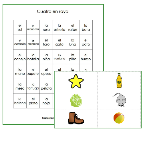 Play these Spanish vocabulary review games to practice high-frequency words.