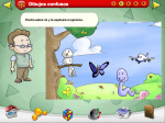 Online Spanish game for vocabulary and listening practice