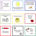 Printable Spanish notes to kids 